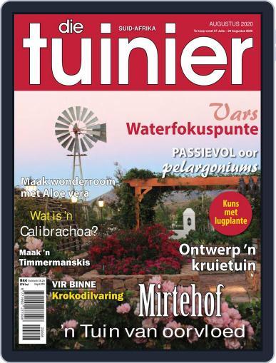Die Tuinier Tydskrif Magazine (Digital) August 1st, 2020 Issue Cover