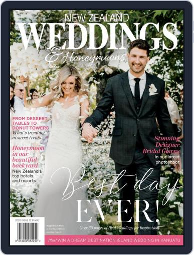 New Zealand Weddings Magazine (Digital) April 12th, 2020 Issue Cover