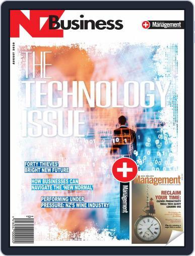 NZBusiness+Management Magazine (Digital) August 1st, 2020 Issue Cover
