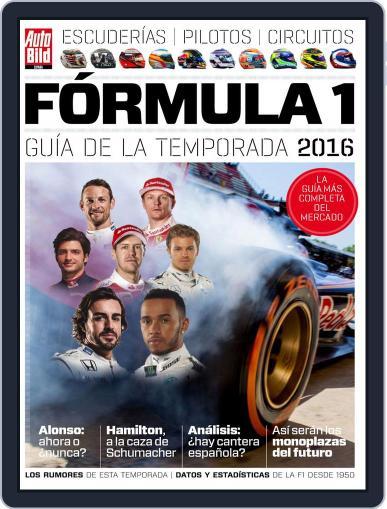 Auto Bild Es Extra F1 Magazine (Digital) March 1st, 2016 Issue Cover