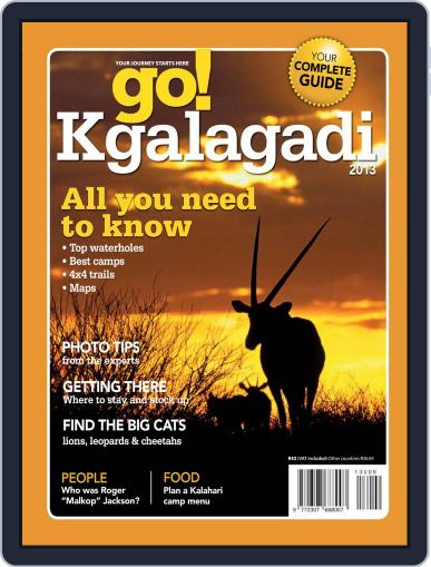Go! Kgalagadi Magazine (Digital) June 18th, 2013 Issue Cover