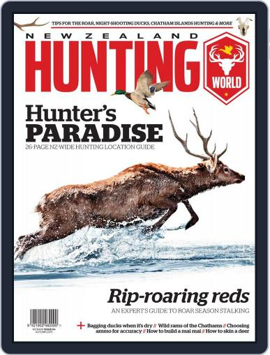 Nz Hunting World Magazine (Digital) April 16th, 2015 Issue Cover
