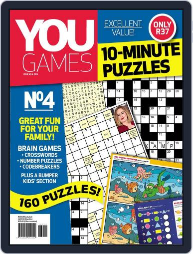 You Play - 10 Minute Puzzles Magazine (Digital) May 1st, 2016 Issue Cover