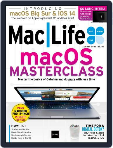 MacLife Magazine (Digital) August 1st, 2020 Issue Cover