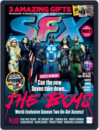 SFX Magazine (Digital) September 1st, 2020 Issue Cover