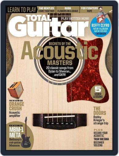 Total Guitar Magazine (Digital) August 2nd, 2020 Issue Cover