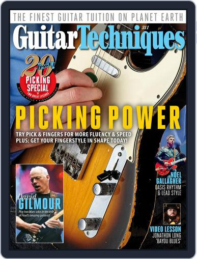 Guitar Techniques Magazine (Digital) August 1st, 2020 Issue Cover