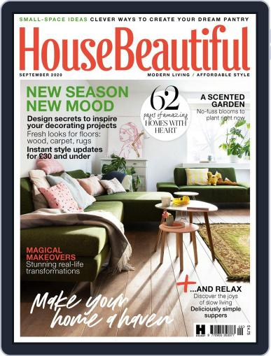House Beautiful UK Magazine (Digital) September 1st, 2020 Issue Cover