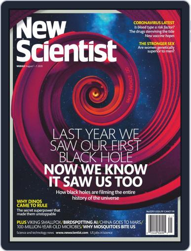 New Scientist Magazine (Digital) August 1st, 2020 Issue Cover