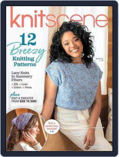 Knitscene Magazine (Digital) March 12th, 2020 Issue Cover