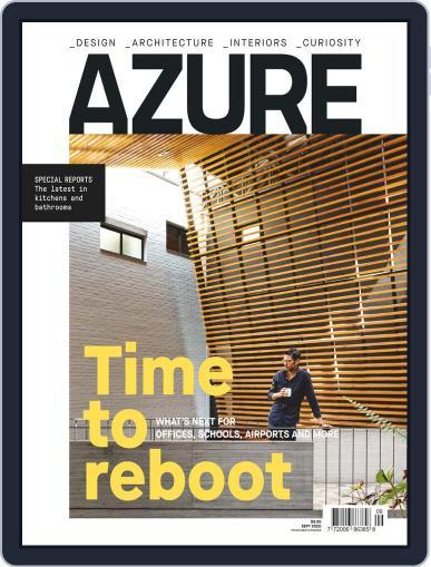 AZURE Magazine (Digital) September 1st, 2020 Issue Cover
