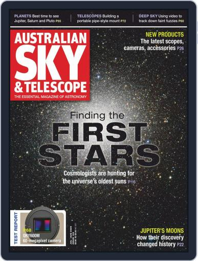 Australian Sky & Telescope Magazine (Digital) July 1st, 2020 Issue Cover