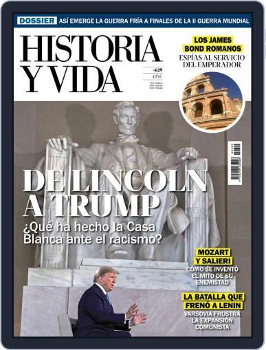 Historia Y Vida Magazine (Digital) August 1st, 2020 Issue Cover