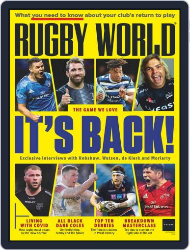 Rugby World Magazine (Digital) September 1st, 2020 Issue Cover
