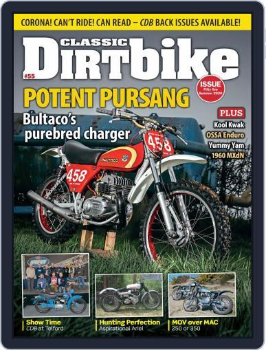 Classic Dirt Bike Magazine (Digital) May 1st, 2020 Issue Cover