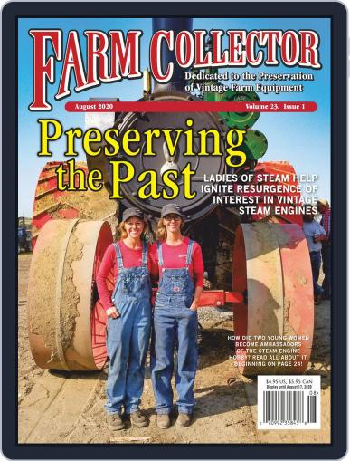 Farm Collector Magazine (Digital) August 1st, 2020 Issue Cover