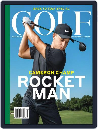 Golf Magazine (Digital) July 1st, 2020 Issue Cover