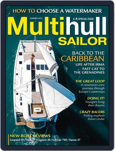 Multihull Sailor (Digital) April 17th, 2018 Issue Cover