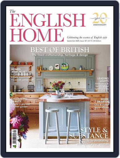 The English Home Magazine (Digital) September 1st, 2020 Issue Cover