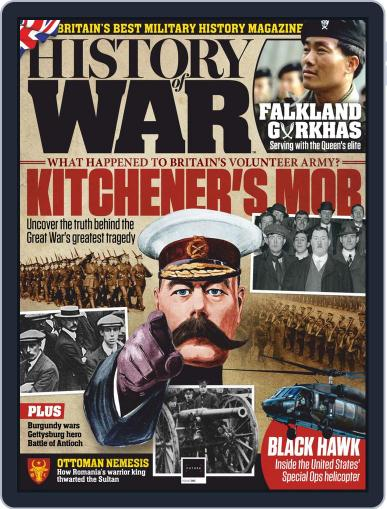 History of War Magazine (Digital) August 1st, 2020 Issue Cover