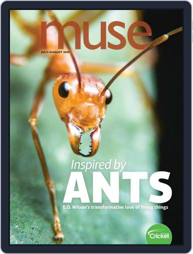 Muse: The Magazine Of Science, Culture, And Smart Laughs For Kids And Children Magazine (Digital) July 1st, 2020 Issue Cover