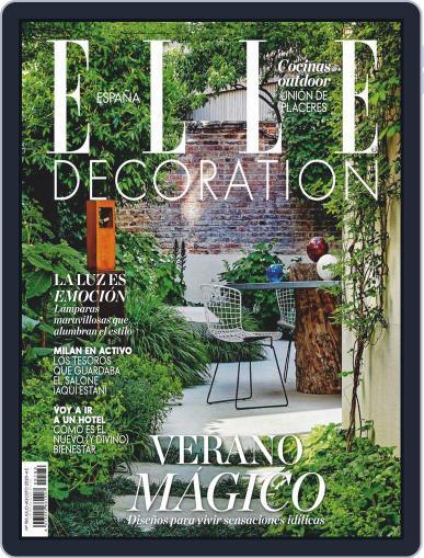 Elle Decoration Espana Magazine (Digital) July 1st, 2020 Issue Cover