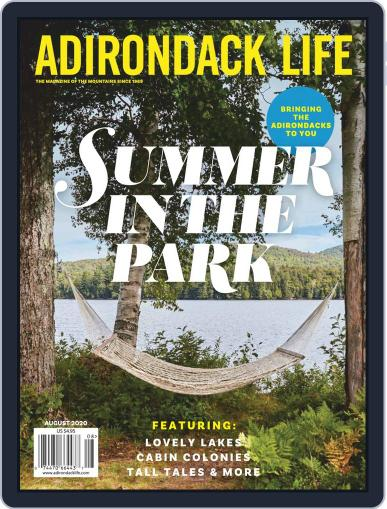 Adirondack Life Magazine (Digital) July 1st, 2020 Issue Cover