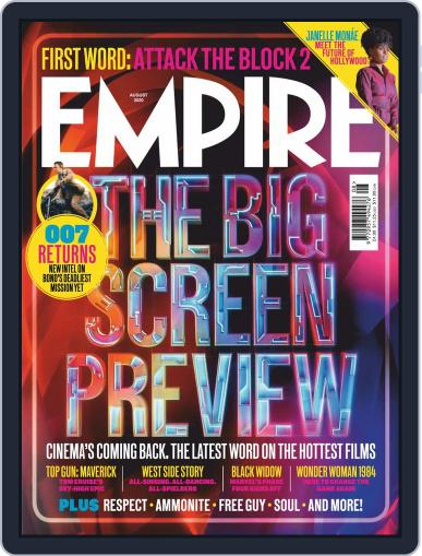 Empire Magazine (Digital) August 1st, 2020 Issue Cover