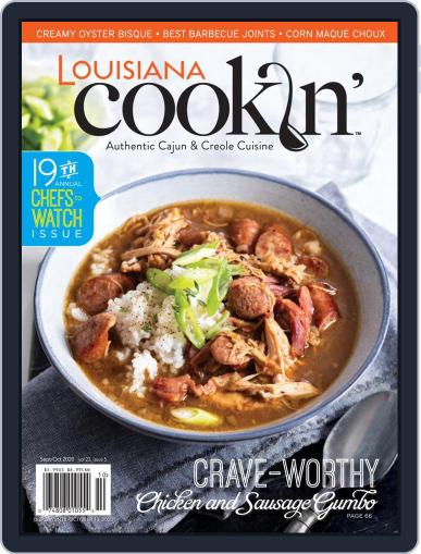 Louisiana Cookin' Magazine (Digital) September 1st, 2020 Issue Cover