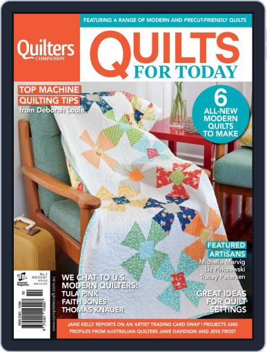 Quilts For Today (Digital) June 24th, 2014 Issue Cover