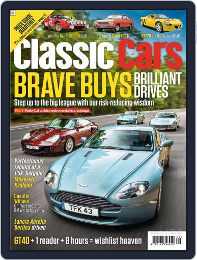 Classic Cars Magazine (Digital) September 1st, 2020 Issue Cover