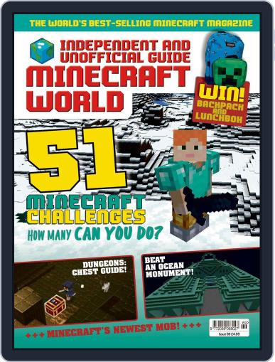 Minecraft World Magazine (Digital) August 6th, 2020 Issue Cover