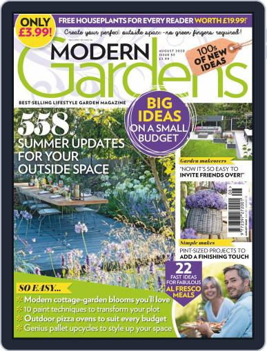 Modern Gardens Magazine (Digital) August 1st, 2020 Issue Cover