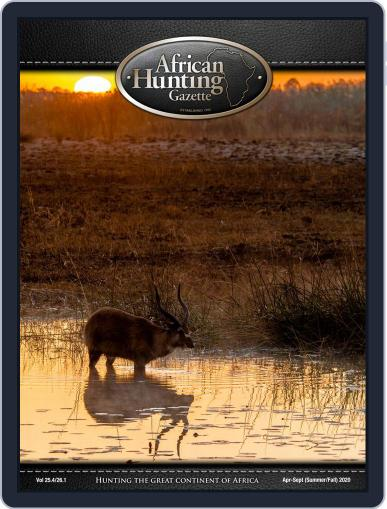 African Hunting Gazette Magazine (Digital) April 1st, 2020 Issue Cover