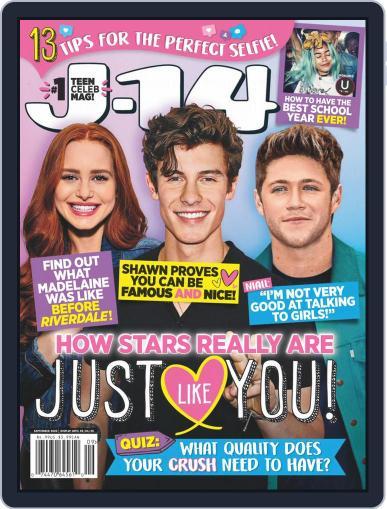 J-14 Magazine (Digital) September 1st, 2020 Issue Cover