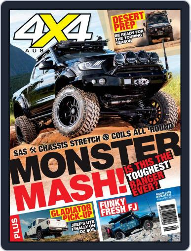 4x4 Magazine Australia Magazine (Digital) August 1st, 2020 Issue Cover