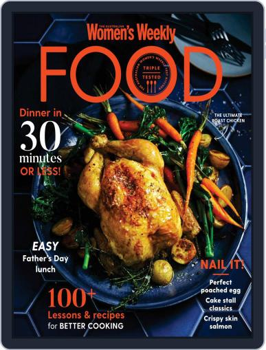 The Australian Women's Weekly Food Magazine (Digital) August 1st, 2020 Issue Cover