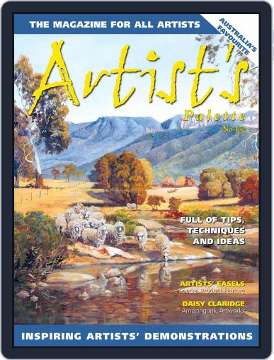 Artist's Palette Magazine (Digital) July 1st, 2020 Issue Cover