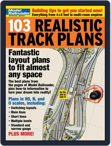 103 Realistic Track Plans (Digital) November 20th, 2013 Issue Cover