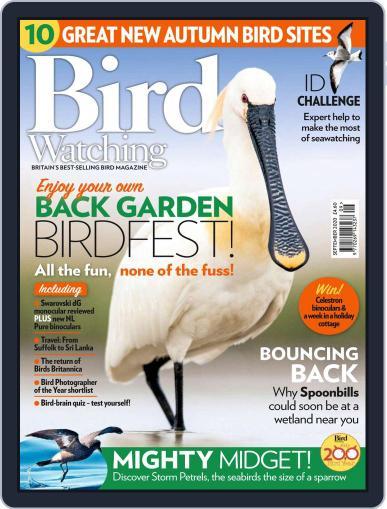 Bird Watching Magazine (Digital) September 1st, 2020 Issue Cover