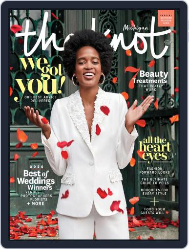 The Knot Michigan Weddings (Digital) April 27th, 2020 Issue Cover