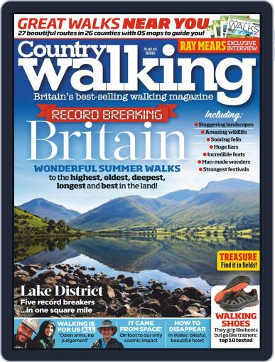 Country Walking Magazine (Digital) August 1st, 2020 Issue Cover