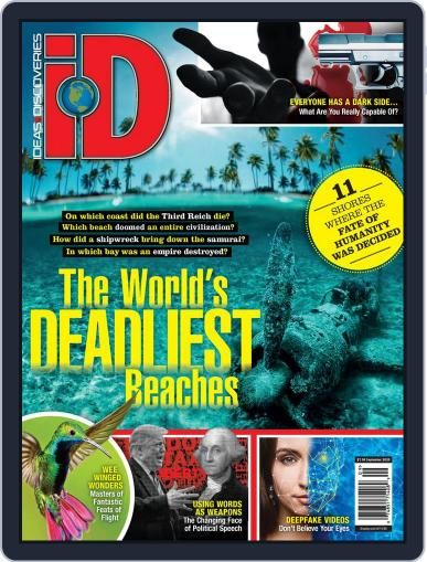 iD (Ideas & Discoveries) Magazine (Digital) September 11th, 2020 Issue Cover