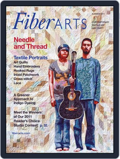 Fiber Arts (Digital) June 8th, 2011 Issue Cover