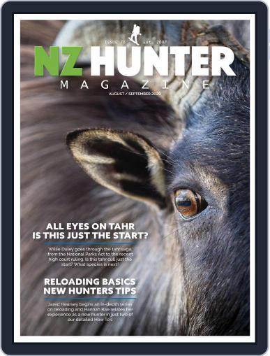NZ Hunter Magazine (Digital) August 1st, 2020 Issue Cover