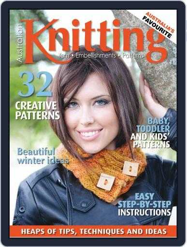Australian Knitting Magazine (Digital) April 1st, 2020 Issue Cover