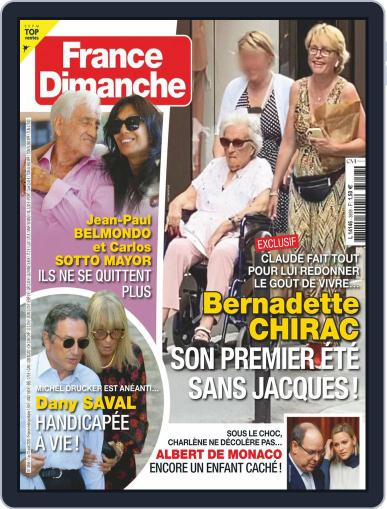 France Dimanche Magazine (Digital) August 7th, 2020 Issue Cover