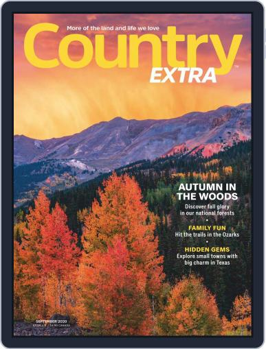 Country Extra Magazine (Digital) September 1st, 2020 Issue Cover