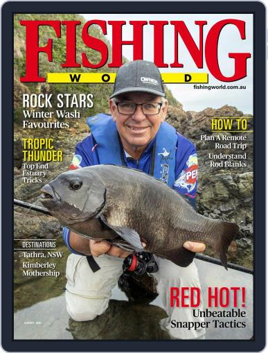 Fishing World Magazine (Digital) August 1st, 2020 Issue Cover