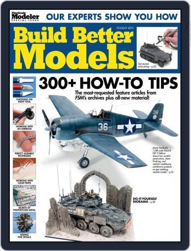 Build Better Models (Digital) November 11th, 2013 Issue Cover